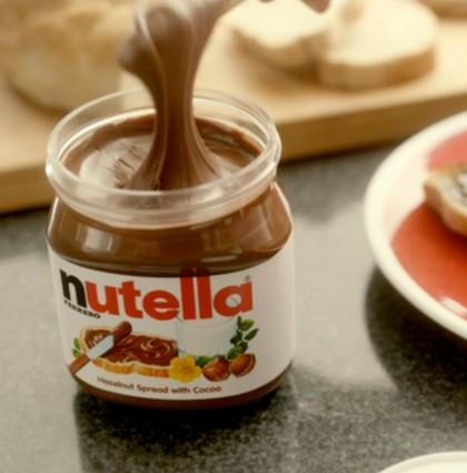 """Nutella """"Esparce la Alegría"""""""